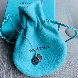 Return to Tiffany Mini Double Heart Necklace